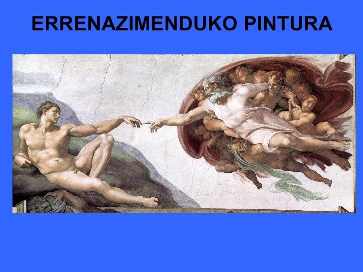 ERRENAZIMENDUKO PINTURA