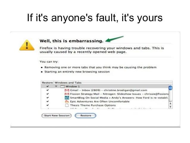 Error messages Slide 3
