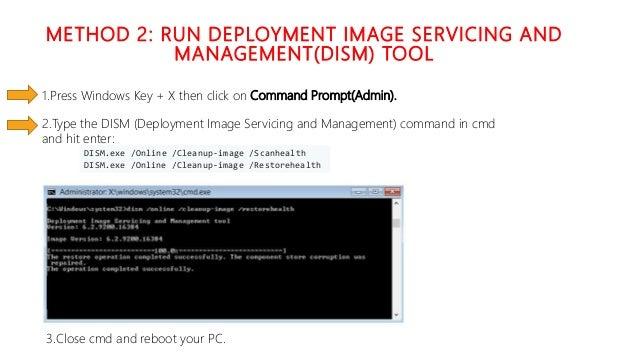Windows Update Error Code 0x80073712 – Solve