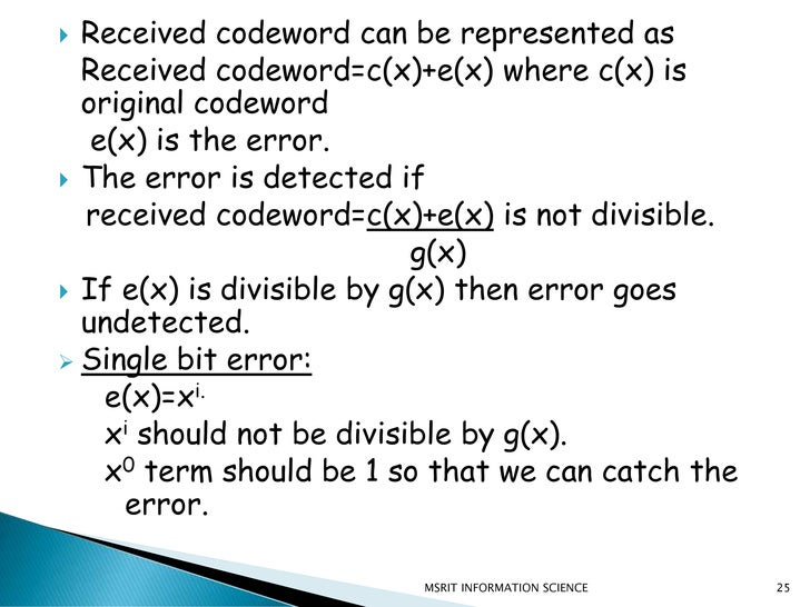 GROUP03_AMAK:ERROR DETECTION AND CORRECTION PPT