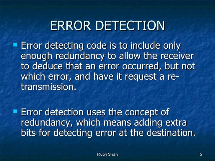 Error detection and correction error detection error detecting code fandeluxe Choice Image