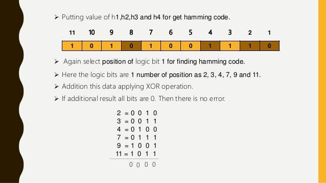 Error Detection and Correction presentation