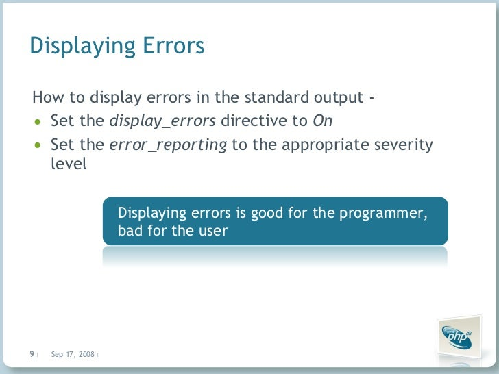 how to set error reporting off in php ini