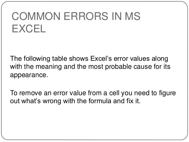 common ms office errors A comprehensive list and differences of all error numbers and descriptions for microsoft access 2010, 2007, 2003, 2002/xp, and 2000.