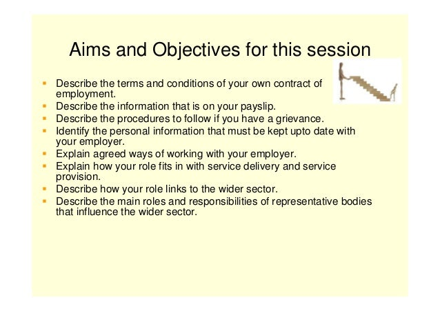 explain the agreed ways of working with your employer Explain the agreed ways of working with your employer in relation to the following areas grievance essays and research papers.