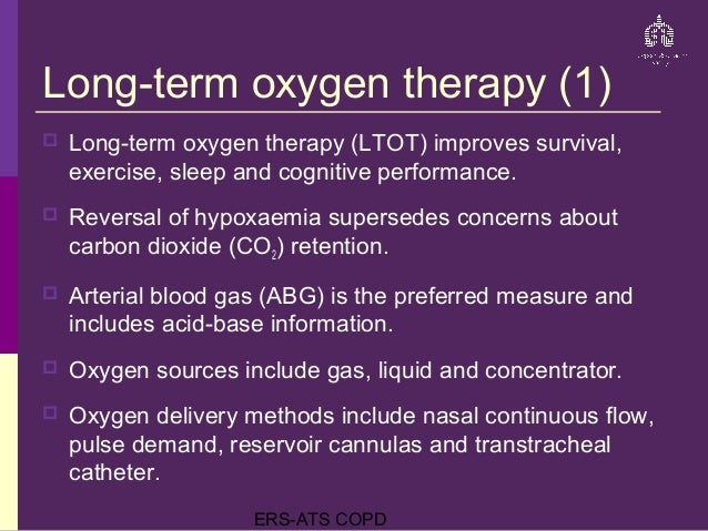 Ers Ats Copd Guidelines