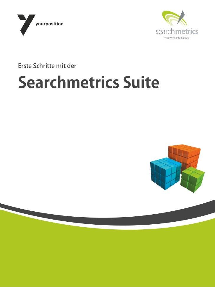 Erste Schritte mit derSearchmetrics Suite