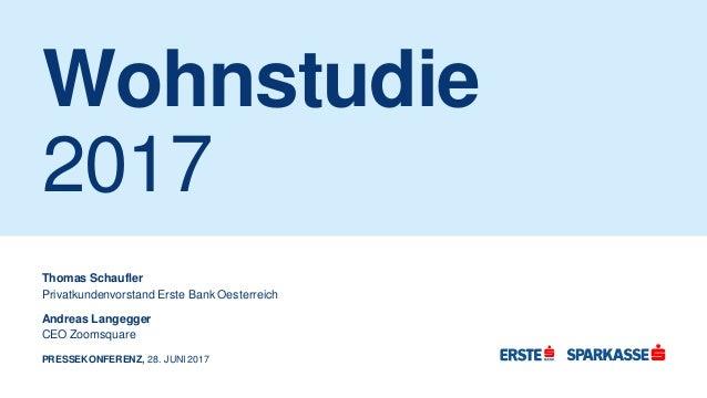 more photos dfd94 b923c Erste Bank Wohnstudie 2017
