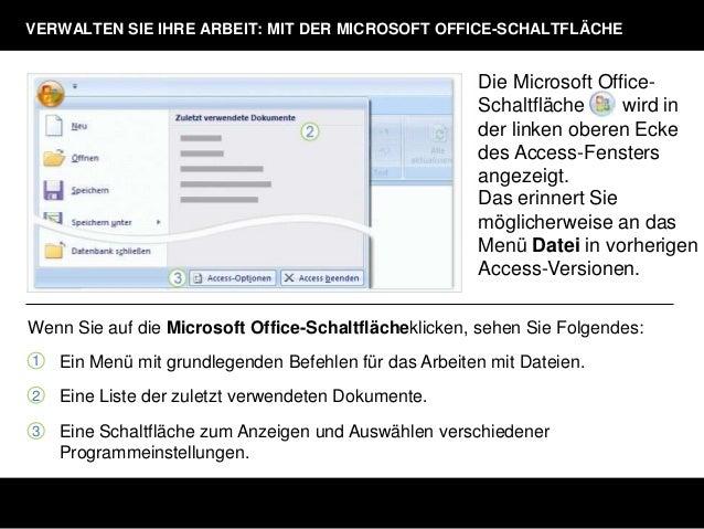 Microsoft office kennenlernen