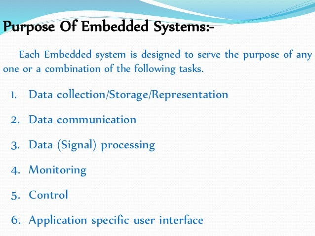 Embedded System Real Time Operating System (ERTS) I unit by vijay