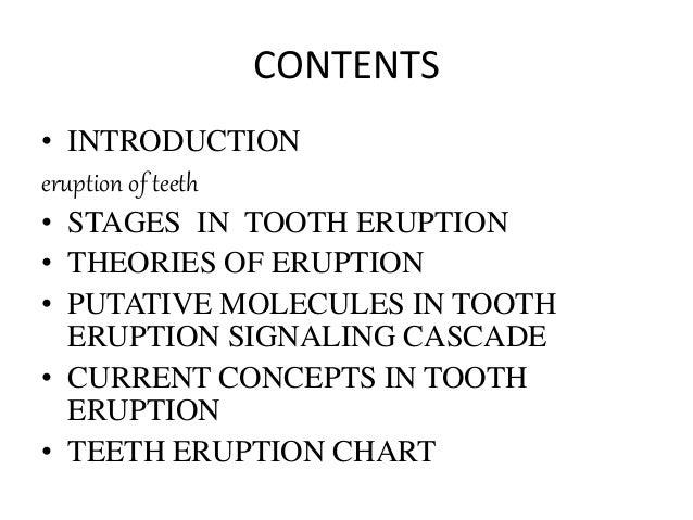 teeth eruption chart 2