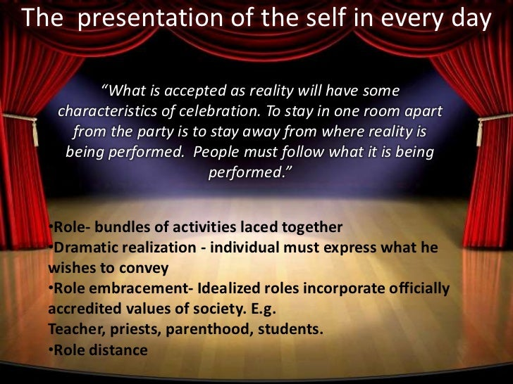 """erving goffman dramaturgical analysis of social interaction A well-known sociologist by the name of erving goffman coined the term """"dramaturgy"""" or dramaturgical analysis to explain this theory of social interaction."""