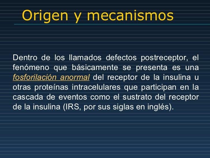 Erwin. biología molecular de insulinorresistencia