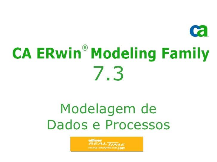 7.3  Modelagem de Dados e Processos