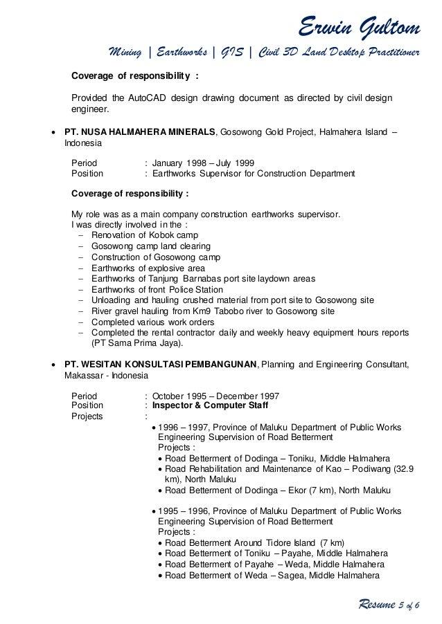 Erwin Gultom\'s Cover Letter & Resume 2017