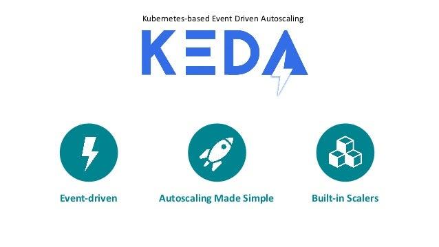 Kubernetes-based Event Driven Autoscaling Event-driven Autoscaling Made Simple Built-in Scalers