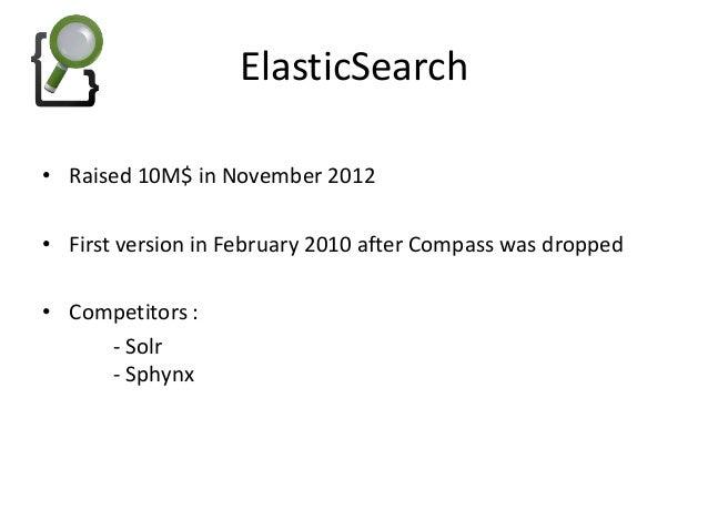 ElasticSearch, Elastica, ElasticaBundle Slide 2