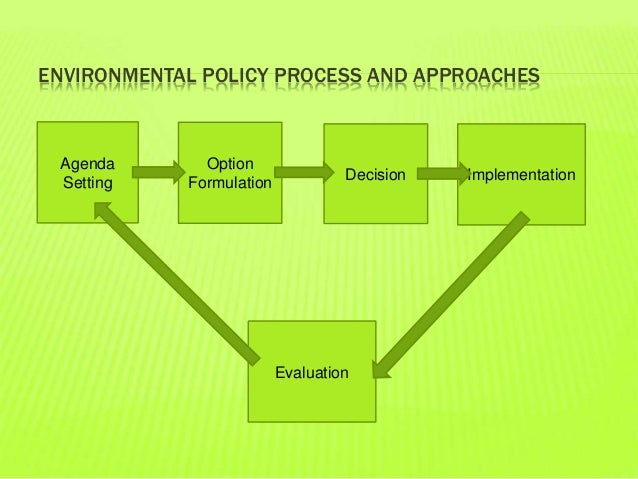 environmental policy reflection 1 In an introduction to the law and economics of environmental policy: issues in institutional design the precautionary principle: policy and application.