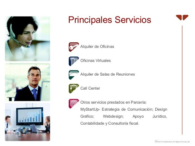 Es apresentacion avila business center soluciones de for Oficina virtual sistema red