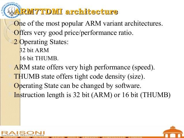 The ARM Architecture - Auburn University