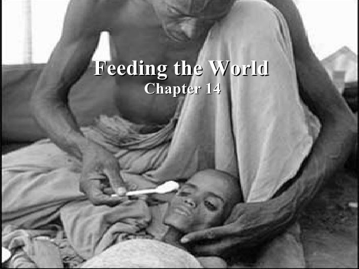 Feeding the World Chapter 14 Feeding the World Chapter 14
