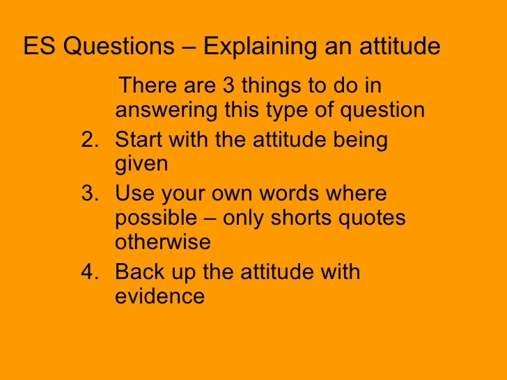 positive attitude interview answers