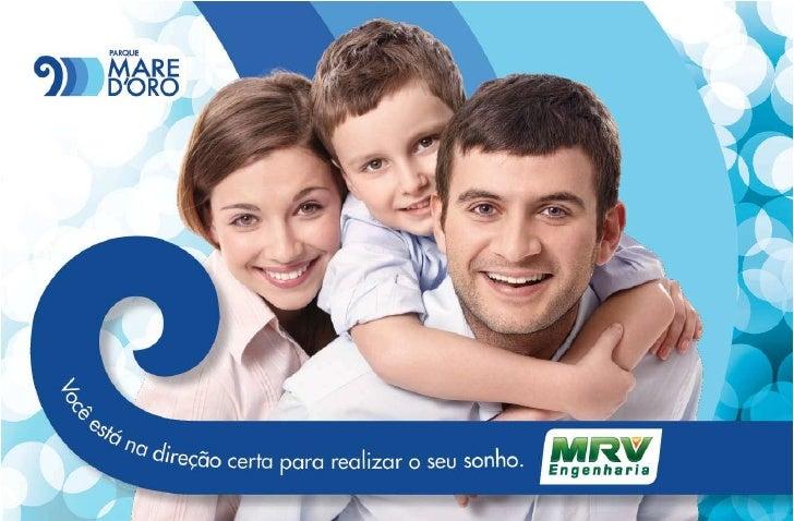 MRV Folder Parque Mare D´oro   Rio das Ostras - RJ