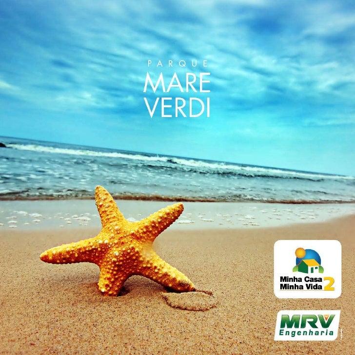 MRV Folder Mare Verdi | Rio das Ostras - RJ