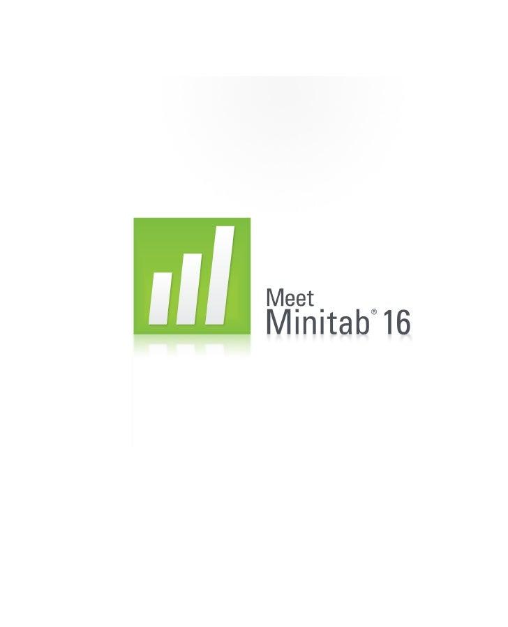 © 2010 by Minitab, Inc. Todos los derechos reservados.                         Versión 16.1.0 Minitab , el logotipo Minita...