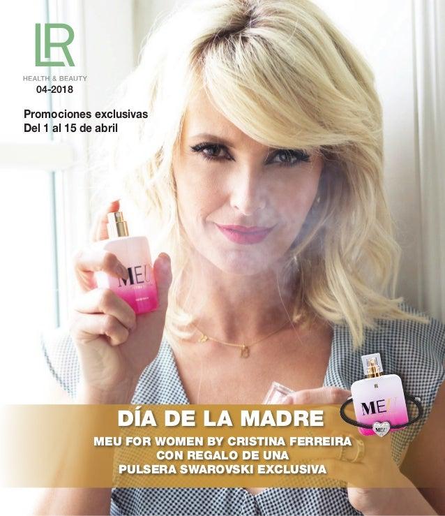 04-2018 DÍA DE LA MADRE MEU FOR WOMEN BY CRISTINA FERREIRA CON REGALO DE UNA PULSERA SWAROVSKI EXCLUSIVA Promociones exclu...