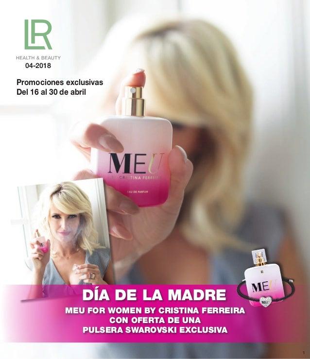 04-2018 DÍA DE LA MADRE MEU FOR WOMEN BY CRISTINA FERREIRA CON OFERTA DE UNA PULSERA SWAROVSKI EXCLUSIVA Promociones exclu...