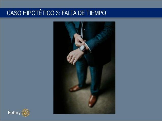 CASO HIPOTÉTICO 3: FALTA DE TIEMPO