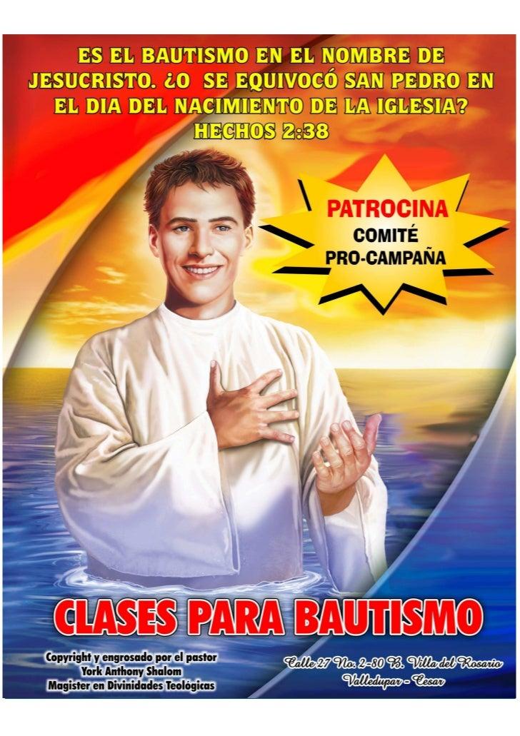 EL BAUTISMO EN EL NOMBRE DE JESUS - PDF