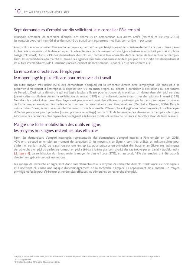 lettre de motivation en ligne pole emploi
