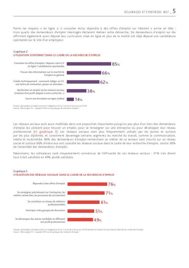 la recherche d emploi pdf
