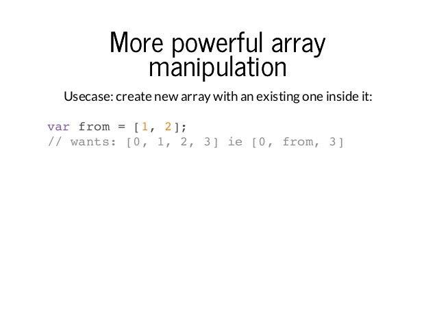 ES6 - Next Generation Javascript