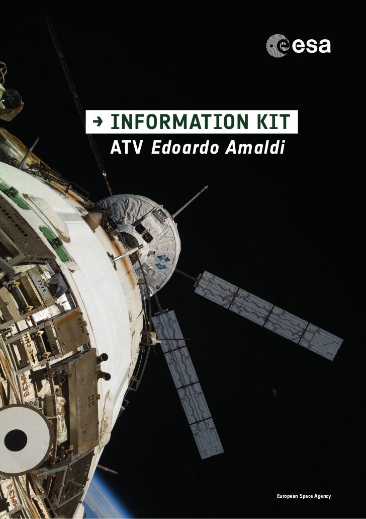 → INFORMATION KIT ATV Edoardo Amaldi                  European Space Agency