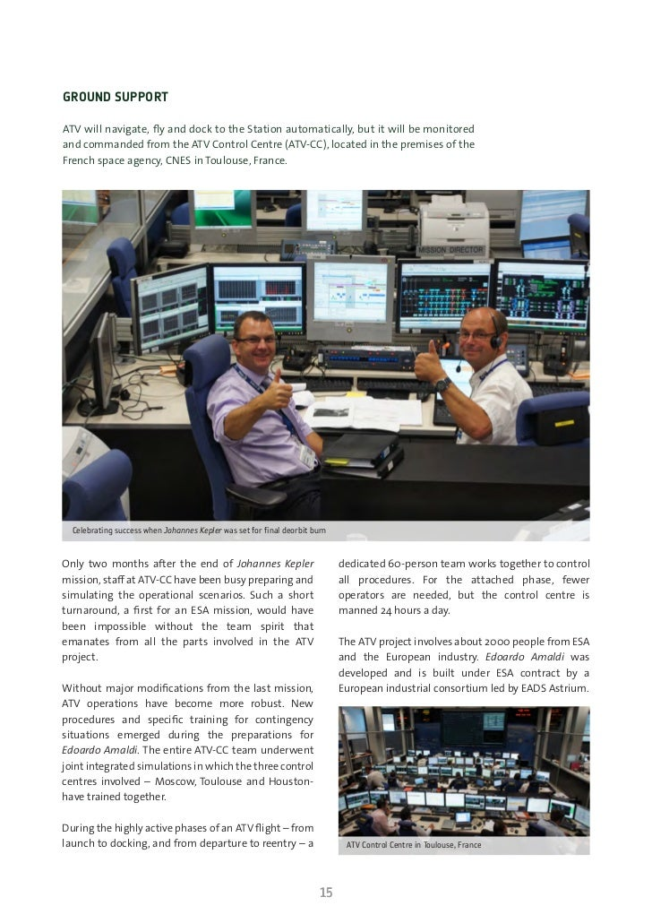 ESA ATV-3 Info Kit