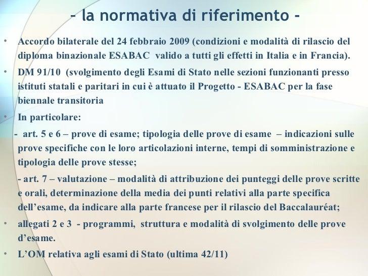 Esabac diapo 17 novembre 11 for Istituti paritari milano