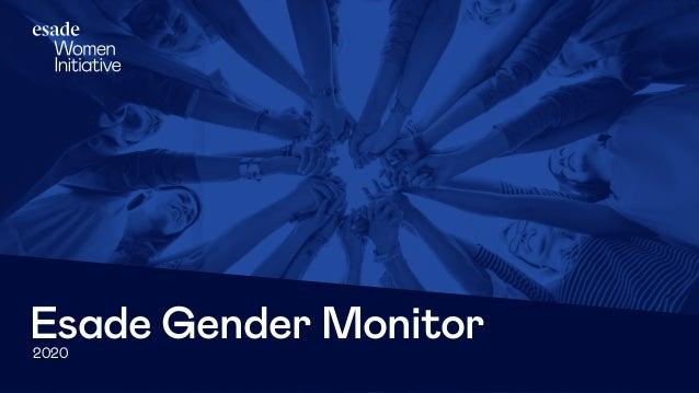 2020 Esade Gender Monitor