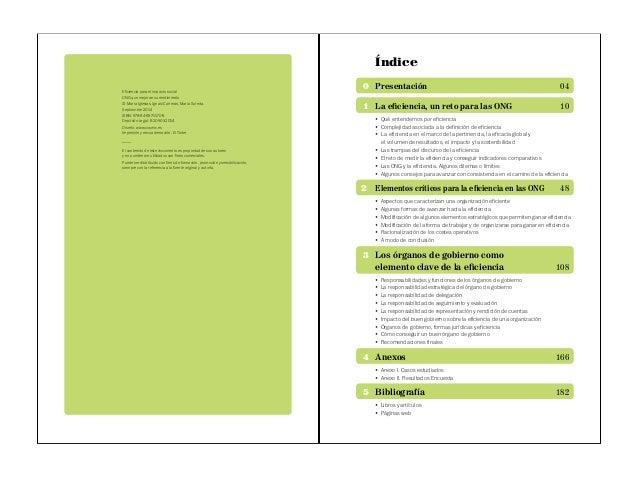 PUBLICACIÓN - Eficiencia para impacto social: ONG que mejoran su rendimiento Slide 3