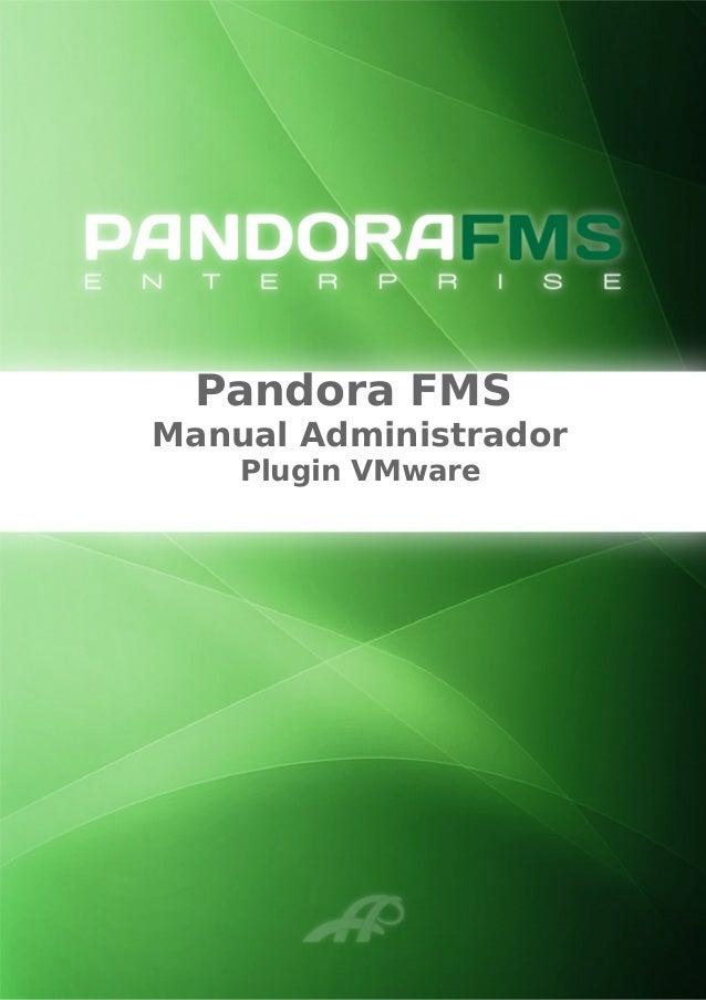 Pandora FMS Manual Administrador Plugin VMware