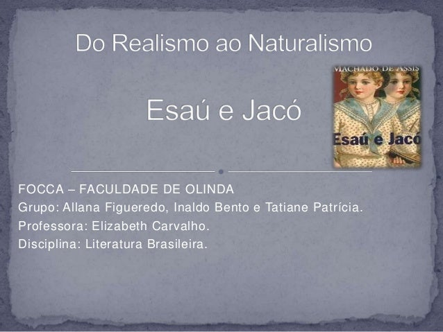 FOCCA – FACULDADE DE OLINDA  Grupo: Allana Figueredo, Inaldo Bento e Tatiane Patrícia.  Professora: Elizabeth Carvalho.  D...