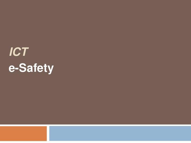 ICTe-Safety