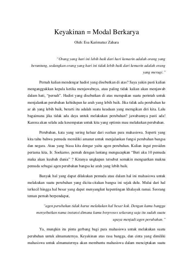 essay mahasiswa untuk almamater bangsa dan negara