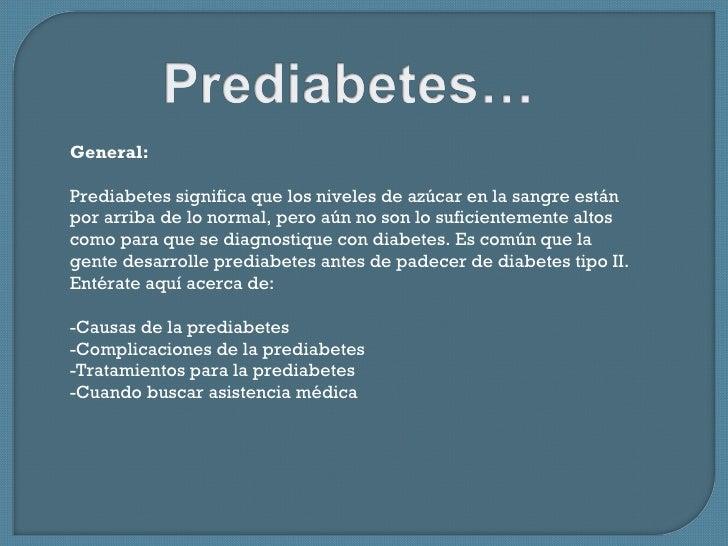 Diabetes...