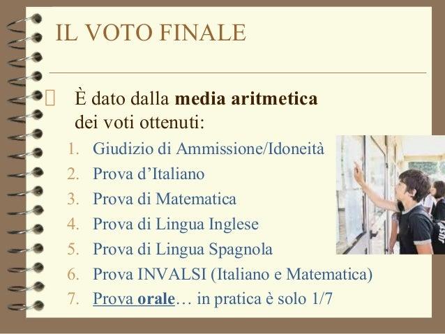 Esami 2015 info per la 3media for Esame di italiano per carta di soggiorno esempi