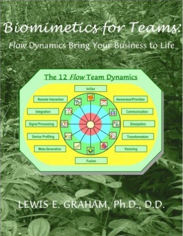 BBIIOOMMIIMMEETTIICCSS FFOORR TTEEAAMMSS:: FLOW DYNAMICS BRING YOUR BUSINESS TO LIFE LEWIS E. GRAHAM, PH.D., D.D.
