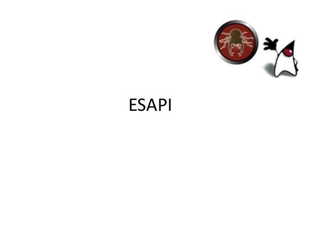 ESAPI