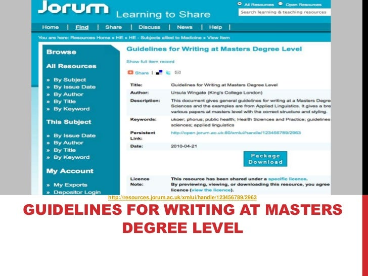how to start an essay degree level 2008-07-08 essay writing skills  23 at what level am i writing the essay  find these on the teaching pages of your department's web-site or in your degree programme handbook.